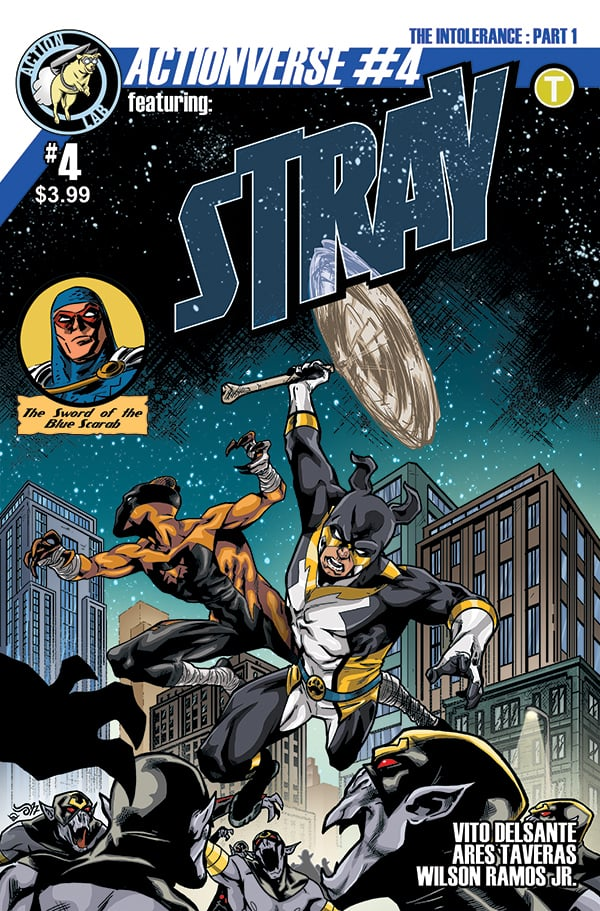 Actionverse #4 featuring Stray Cover B