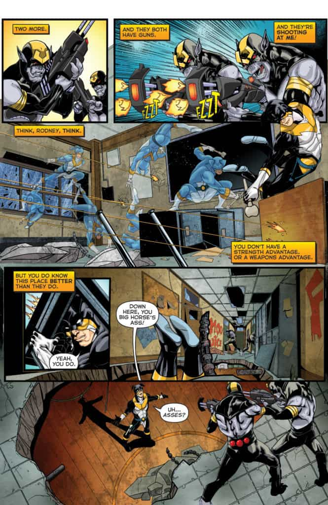 Actionverse #4 featuring Stray Page 6