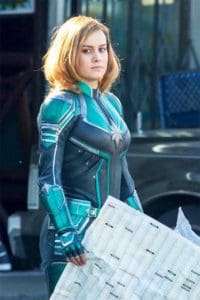 Captain Marvel's new look