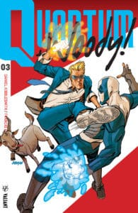 QUANTUM AND WOODY! (2017) #3 – Q&W Icon Variant by Dave Johnson