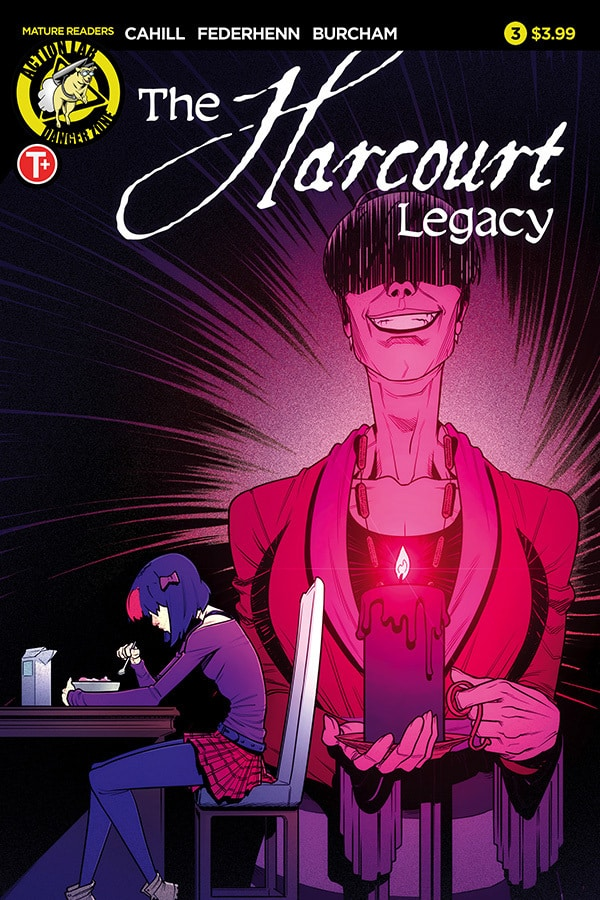 The Harcourt Legacy #3 - Cover A by Jason Federhenn and Josh Burcham