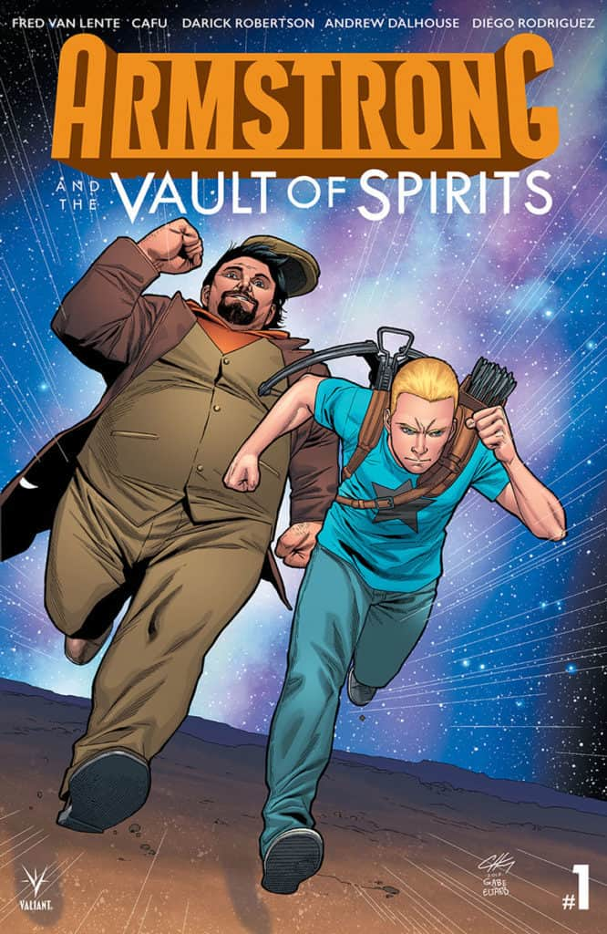 Armstrong and the Vault of Spirits #1 - Variant Cover by Clayton Henry