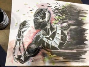 Black Panther by Kiley Beecher at WW St Louis 2018
