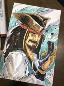 Jack Sparrow by Kiley Beecher at WW St Louis 2018