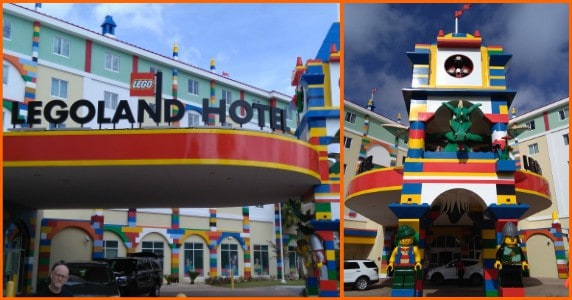 Legoland resort feature