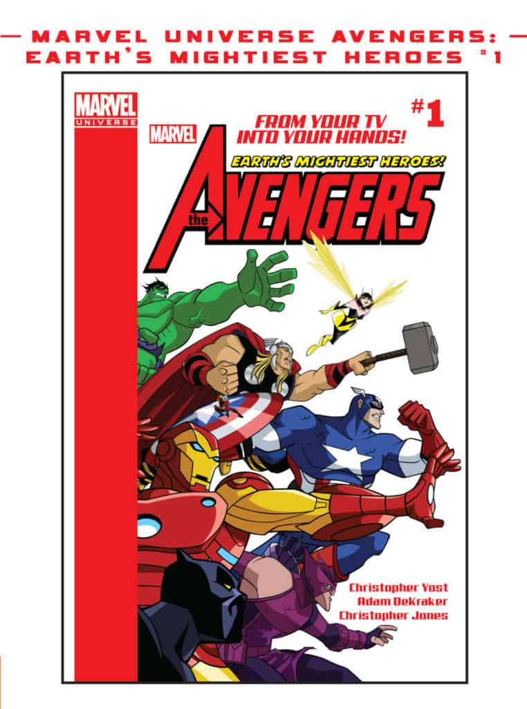 Earth's Mightiest Heroes the avengers