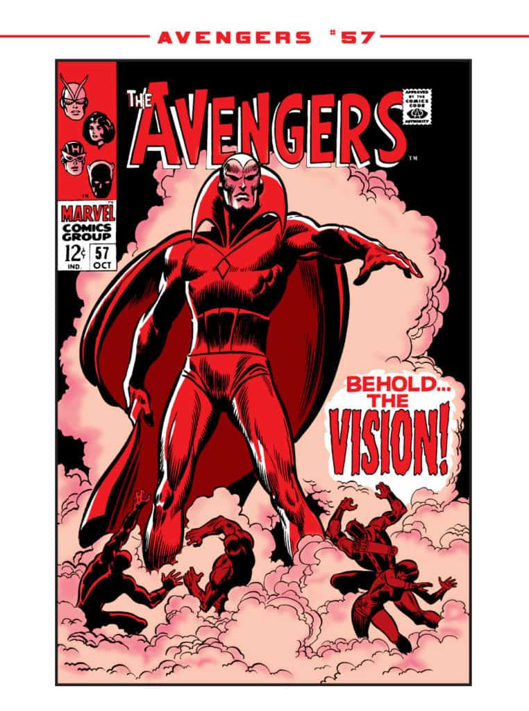 The Avengers Behold the Vision