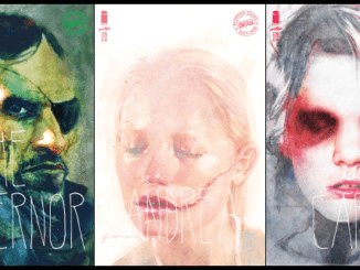 THE WALKING DEAD Sienkiewicz variants feature