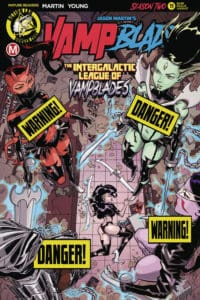 Vampblade - Season Two #11 - Cover B by Winston Young