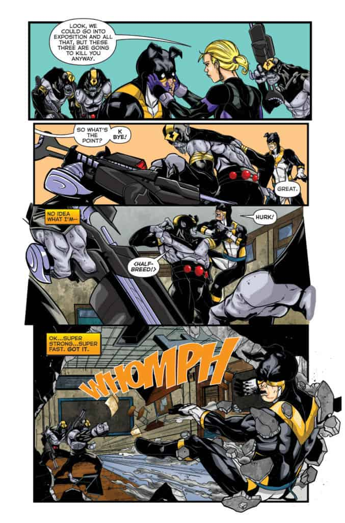 Actionverse Featuring Stray Volume 1 #4 Page 4