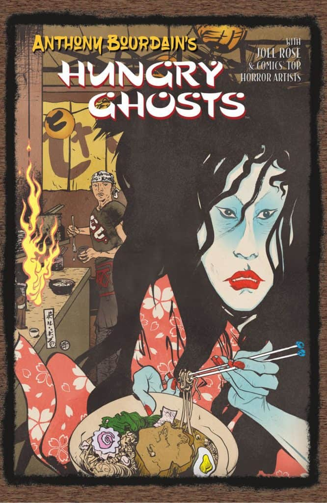 Anthony Bourdain's Hungry Ghosts tpb cover