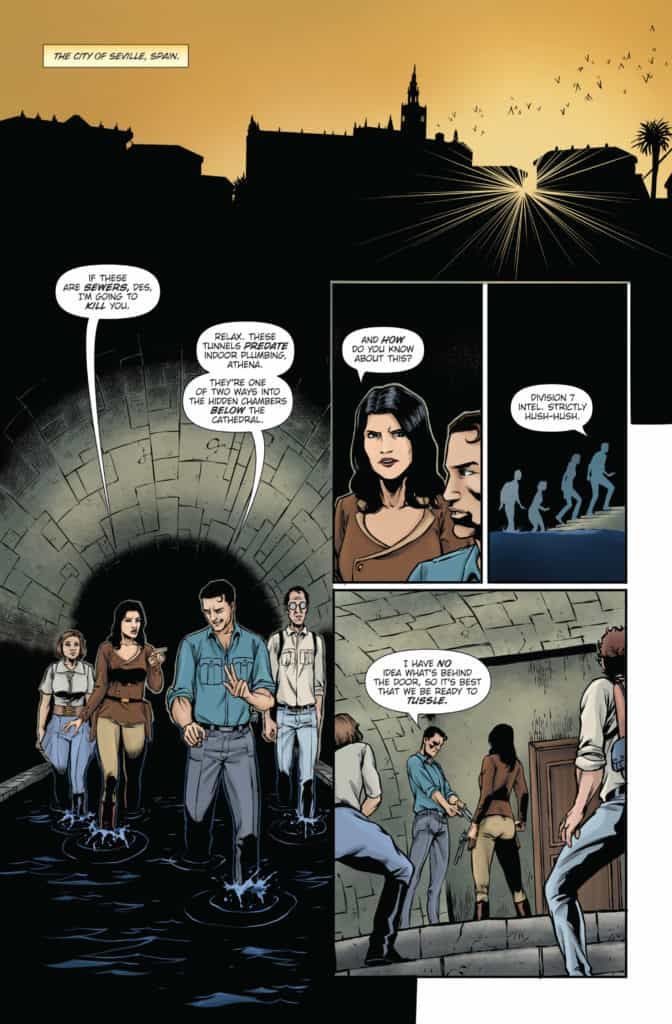 Athena Voltaire and the Sorcerer Pope #2