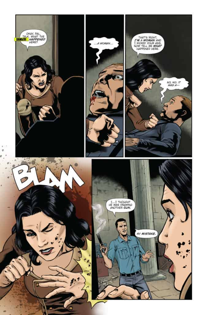 Athena Voltaire and the Sorcerer Pope #2 Page 5