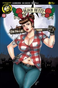 "Black Betty #2 - Cover C – David ""Artassassin"" Harrigan Artist Variant"