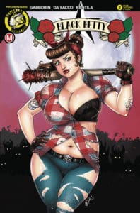 "Black Betty #2 - Cover D – David ""Artassassin"" Harrigan Artist Tattered & Torn"