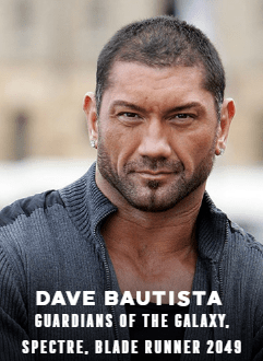 Dave Bautista appearing at C2E2 2018
