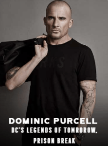 Dominic Purcell appearing at C2E2 2018