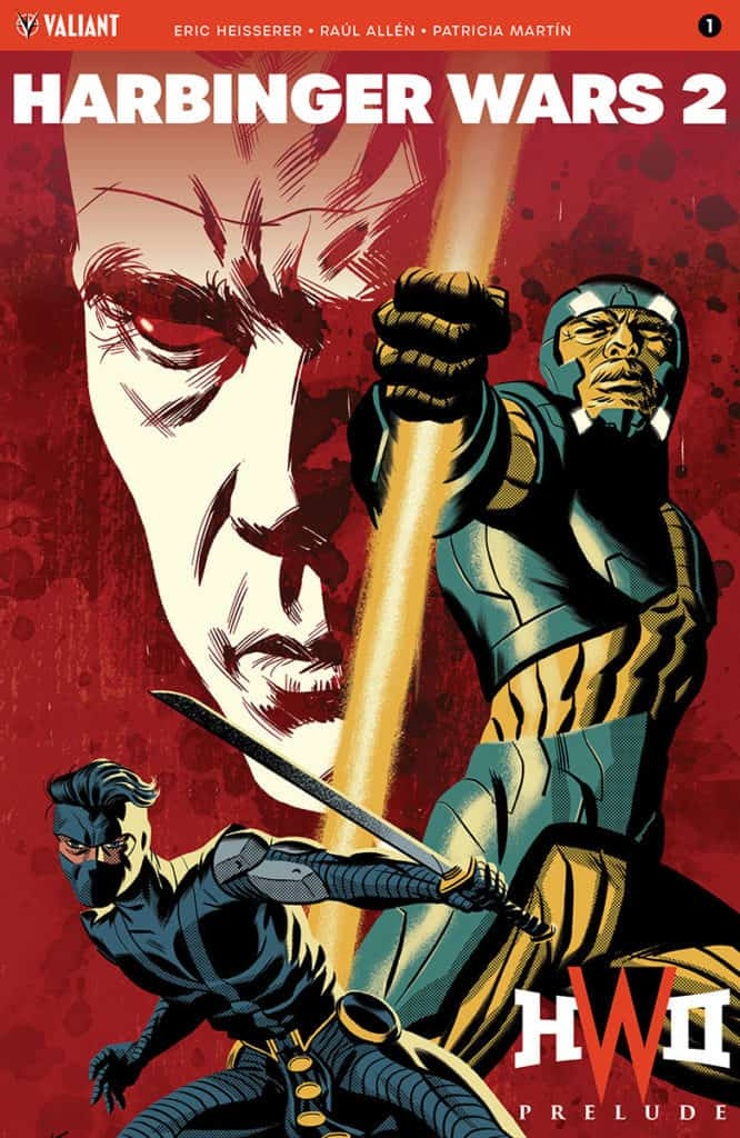 HARBINGER WARS 2 PRELUDE #1 – Cover B by Michael Cho