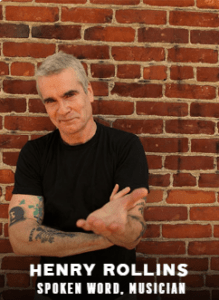 Henry Rollins appearing at C2E2 2018