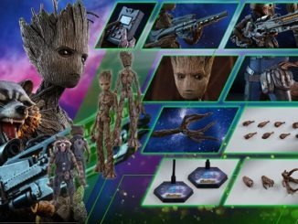 Hot Toys Teen Groot and Rocket