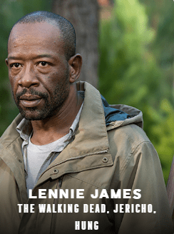 Lennie James appearing at C2E2 2018