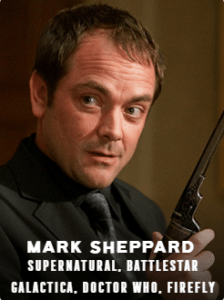 Mark Sheppard appearing at C2E2 2018