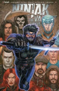 Ninjak vs. the Valiant Universe #3 (of 4) - Variant Cover by Juan Jose Ryp