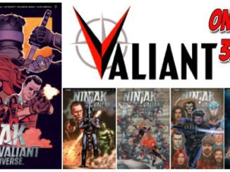 Ninjak vs. the Valiant Universe #3 feature