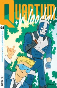 QUANTUM AND WOODY! (2017) # 4 - Q&W Icon Variant by FRED HEMBECK