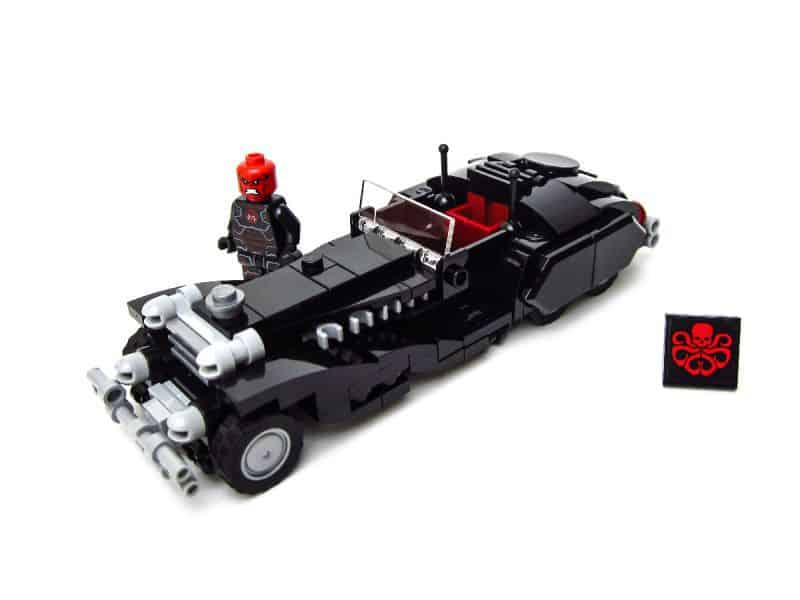 Red Skull Coupe by Lucas Inc