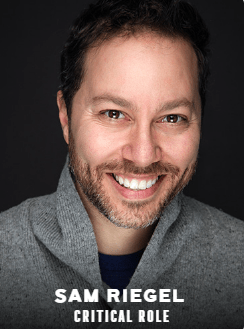 Sam Riegel appearing at C2E2 2018