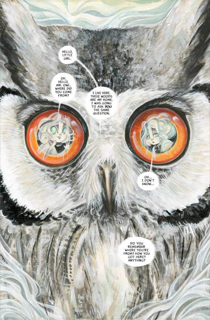 The Ghost The Owl Cover