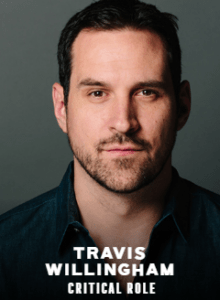 Travis Willingham appearing at C2E2 2018