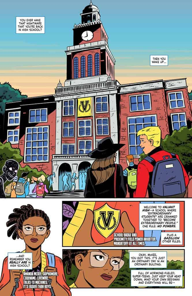 Valiant High #1 page 1