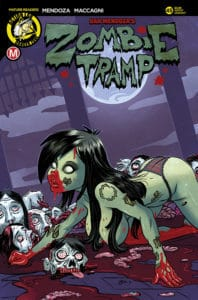 Zombie Tramp #45 - Cover C – Richard Garcia Artist Variant