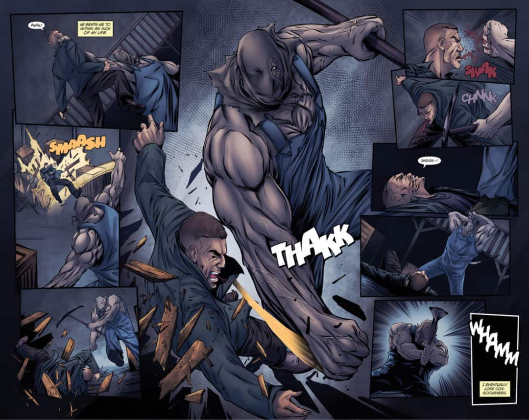 Aberrant issue #3 page 18 – 19-01