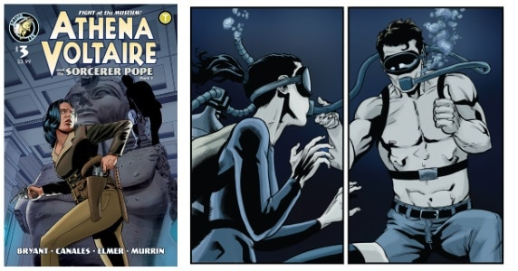 Athena Voltaire and the Sorcerer Pope #3 feature