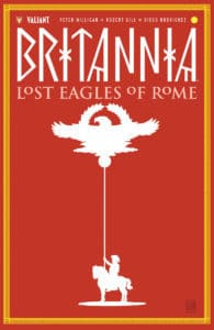 Britannia Variant Cover by DAVID MACK