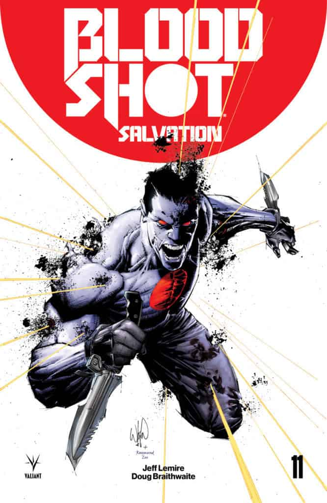 Bloodshot Icon Variant by WHILCE PORTACIO