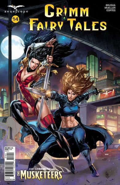 GRIMM FAIRY TALES #14 - Cover B by Caanan White