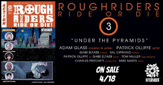 Rough Riders Ride or Die #3