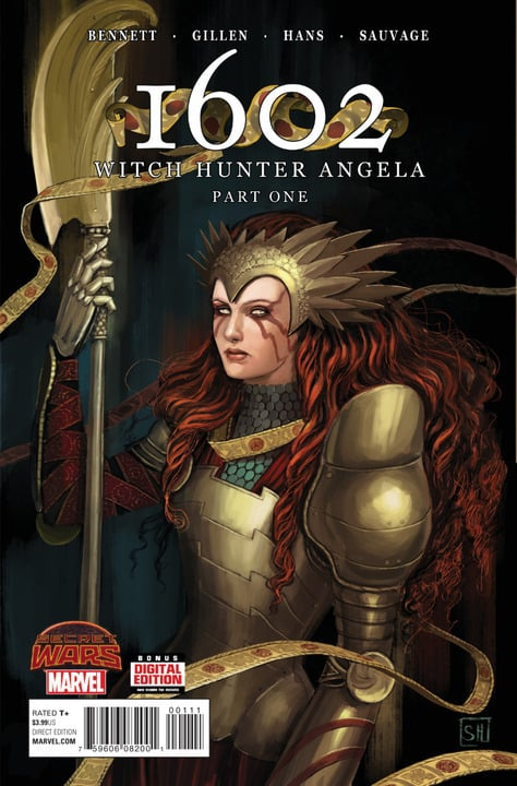 1602 Witch Hunter Angela (2015) – #1
