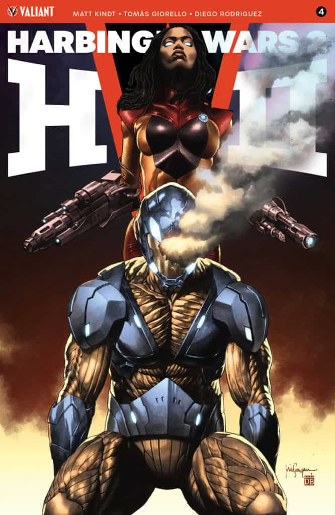 HARBINGER WARS 2 #4 (of 4) – Cover B by Mico Suayan