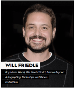 NYCC Will Friedle
