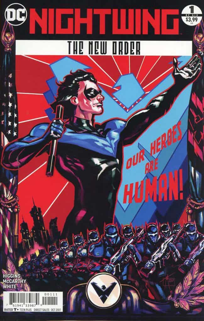 Nightwing The New Order (2017) – #1