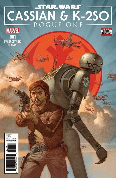 Star Wars Rogue One – Cassian and K-2SO Special (2017) – #1