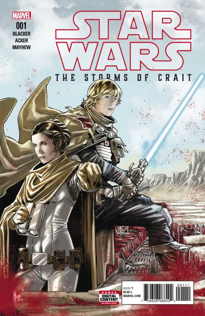 Star Wars The Last Jedi – The Storms of Crait (2018) – #1