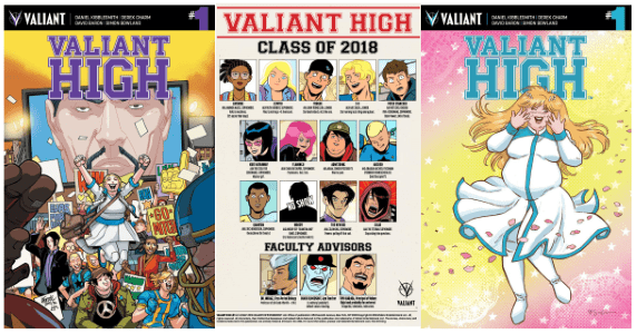 Valiant High #1 feature