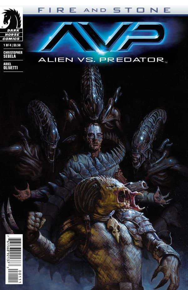 Alien vs. Predator: Fire and Stone (2014) #1