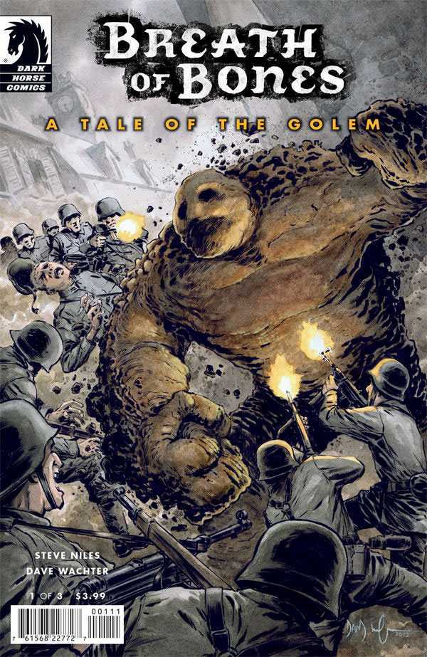 Breath of Bones: A Tale of the Golem (2013) #1